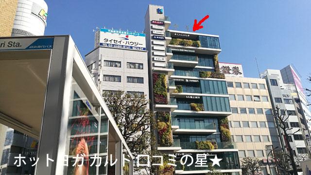 JR大森駅東口から徒歩1分!カルド大森のアクセス